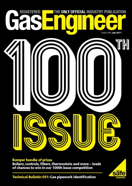100 Issues of Registered Gas Engineer Magazine